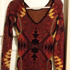 Multi colored Fall Dress